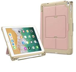 New Moko Kepboard Case For iPad 9.7 Rose Gold With Bluetooth
