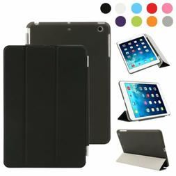 New Leather Magnetic Smart Cover Case Protective Stand Holde