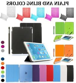 Smart Leather Stand Case Cover for iPad 2 3 4 Air 2  Mini 2