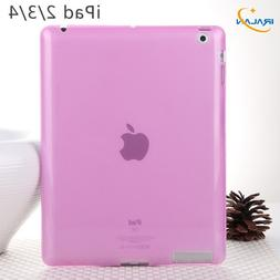New Soft Silicon TPU Back Cover For Apple <font><b>iPad</b><
