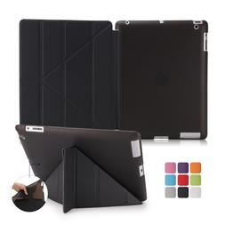 Origami Ultra Slim Leather +TPU Magnetic Rubber Soft Cover F