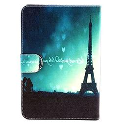 amhello New Painted PU Leather Flip Smart Stand Case Cover S