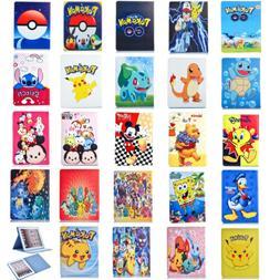 Pokemon Go Cartoon Disney Protective Folio Leather Cover Cas