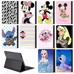 Popular Cute Disney Cartoon Character PU Leather Stand Case
