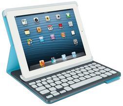 Logitech Protective Folio Case Keyboard Apple iPad 2 3 4 Ele