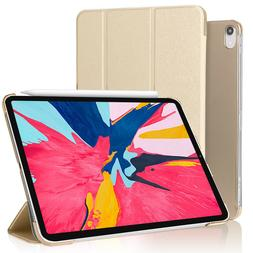 PU Synthetic Leather Smart Cover Folio Case For iPad Pro 12.