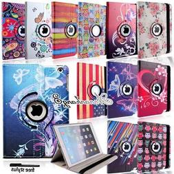 Rotating 360° Stand Leather Case Smart Cover For iPad 234 /
