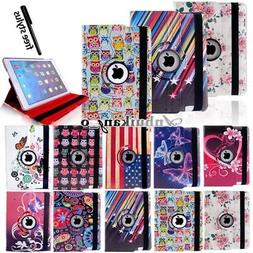 Rotating LEATHER STAND CASE COVER For iPad /ipad Air / ipad