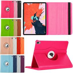 Rotating Shockproof Leather Kickstand Case For Apple iPad 7t