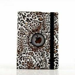 9.7 Inch 360 Degree Rotation Leopard Print Pattern with Stan