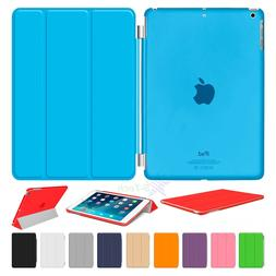 S-Tech Magnetic Smart Cover Back Case For Apple iPad 9.7 201