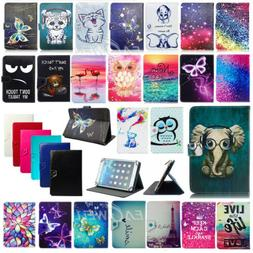"For Samsung Galaxy Tab Apple iPad ASUS 9.7"" 10"" Inch PU Leat"