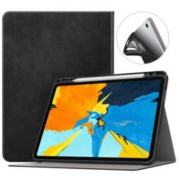 MoKo Shock Proof Stand Folio Cover Case Apple Pencil Holder