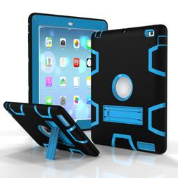 Shockproof Case Cover Protector Shield Rubber w/Stand For iP