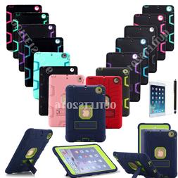Shockproof Heavy Duty Hard Case Cover For Apple iPad Mini 1/