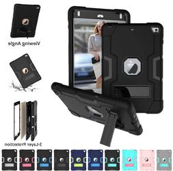 Shockproof Heavy Duty Hard Case Stand Cover for iPad 7th Gen
