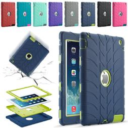 Shockproof Heavy Duty Rubber Hard Case For iPad 2/3/4 Mini 1