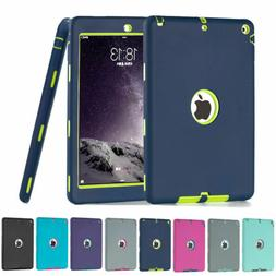 Shockproof Heavy Duty Rubber Hard Case Cover For iPad 9.7 6t