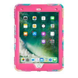 Shockproof Heavy Duty Rubber Hard Stand Case for iPad 9.7 20