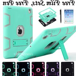 Shockproof Heavy Duty Rubber Hard Stand Case Cover For Apple