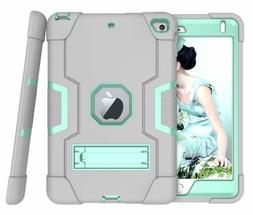 Shockproof Hybrid Rubber Tough Stand Case Heavy Duty Cover F