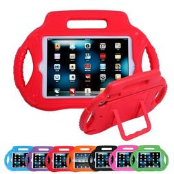 Shockproof Kids Safe Foam Handle Case Cover Stand for iPad M