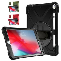 MoKo Shockproof Protection Rugged Cover Strap Case for iPad