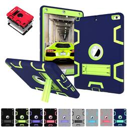 shockproof rubber armor case hard stand cover