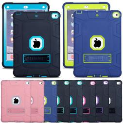 Shockproof Rugged Defender Stand Case For iPad 9.7 Inch A189