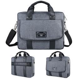 """VanGoddy Shoulder Messenger Travel School Bag For 10.1""""-17.3"""