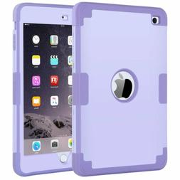 BENTOBEN Case For iPad mini1/2/3 Silicone Resistant Hybrid T