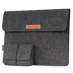 MoKo 10-11 Inch Tablet Sleeve Bag, Felt Case Cover Compatibl