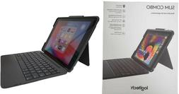Logitech Slim Combo Keyboard/Cover Case iPad , iPad  - Black