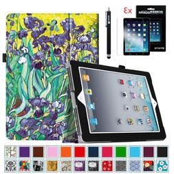 Slim Fit Folio Case Cover For iPad 2,iPad 3 & iPad 4th Gen +