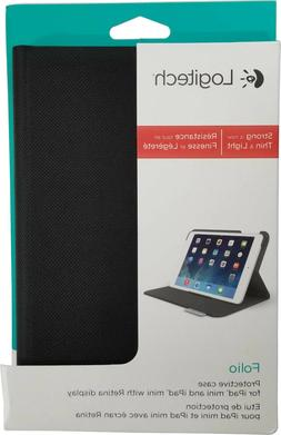 Logitech Slim UltraThin Folio Protective Cover iPad Mini 1 2