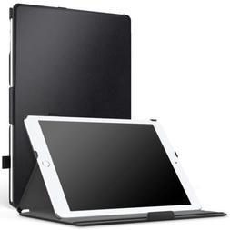 MoKo Slim-Fit Multi-Angle Folio Cover Case Hand Strap Fit iP