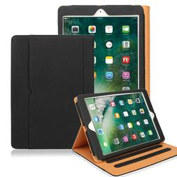 Slim Fit Smart Folio Cover Leather Case for New iPad 6th Gen