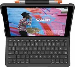 Logitech - Slim Folio Keyboard Case for Apple® iPad®  - ..