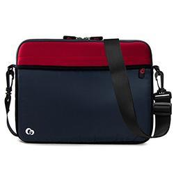 7-9 inch Slim Neoprene Messenger Tablet Bag, Water Resistant