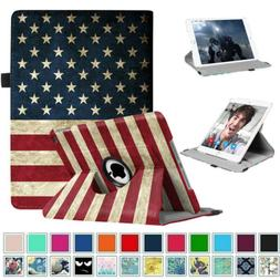 Fintie Slim PU Leather Rotating Case Cover Stand For iPad Ai