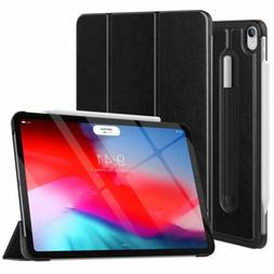 MoKo Slim Smart Shell Stand Cover Case w/ Pencil Holder for