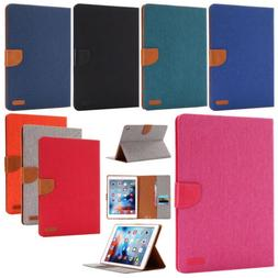 Smart Case Magnetic Flip Synthetic Leather Cover For iPad 2