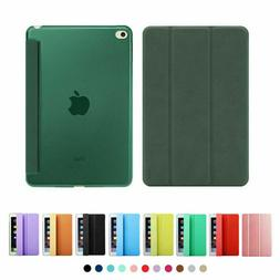 smart magnetic stand leather book case cover