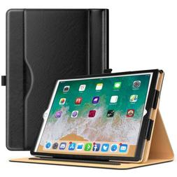 MoKo Multiple Viewing Angle Folding Folio Cover Case for iPa