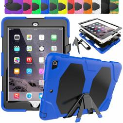 Stand Tablet Case with Screen Protector Cover For iPad Mini
