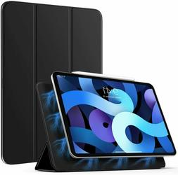 Strong Magnetic Adsorption PU Leather Stand Smart Case For i