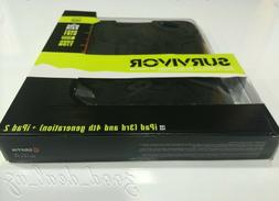 Griffin Survivor iPad 3rd & 4th Generation & iPad 2 Black Mi
