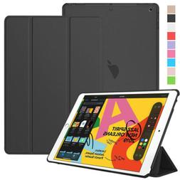 "For Apple iPad 7th Generation 10.2"" Slim Leather Flip Folio"