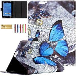 7.5-9.0 inch Tablet Case, Dteck Universal Cartoon Cute Desig
