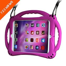 TopEs iPad Mini Case Kids Shockproof Handle Stand Cover& for